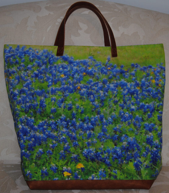Bluebonnet Field Bag