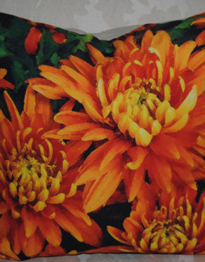 Orange Mums Bunch